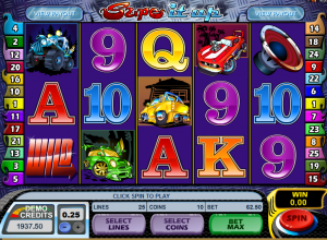 High Risk Free Spins from Microgaming